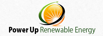 Power Up Renewable Energy, Logo